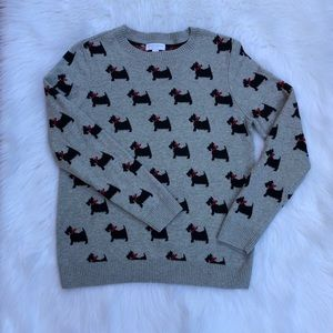 Charter Club Petite Doggy Bow Sweater